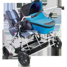 Детская инвалидная коляска ДЦП Patron TOM 4 CLASSIC DUO-COMBI
