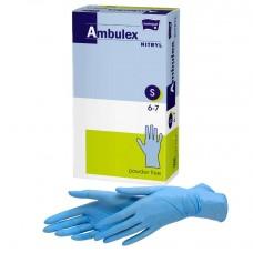 Перчатки нитриловые нестерильные неопудренные Matopat Ambulex Nitryl, 50 пар