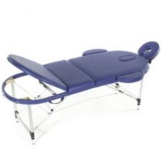 Стол массажный 3-х секционный алюминиевый JFAL03 (МСТ-331 ОВЛ)