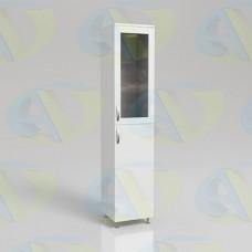 Шкаф для документов ЛДСП одностворчатый ШД1 на опорах 1900х400х400 мм.