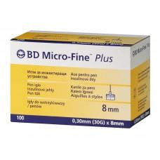 Иглы МикроФайн 0,30мм(30G)x8 мм (BD Micro-Fine)
