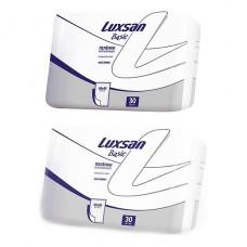 Пеленки впитывающие LUXSAN Basic / Normal 60х90; 60x60см 30шт.