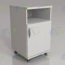 Тумба прикроватная медицинская ТП-1.3 (ниша, дверь)